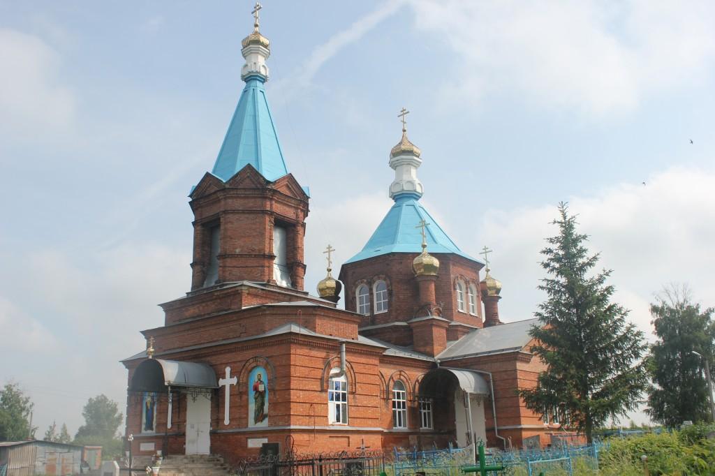Богоявленский храм с. Большое Анненково